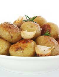 Potato Staple Food Vitamins Roast